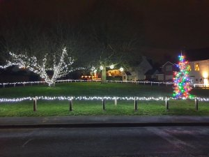 Village Christmas Lights 2020